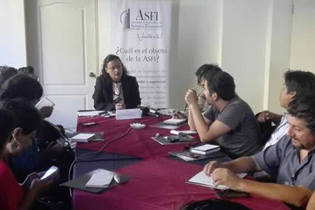 ASFI reporta que cobertura de atención financiera llega al 88% de la población