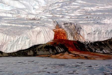 Un nuevo estudio resuelve el enigma de las 'cataratas de sangre' de la Antártida