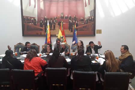 Comisión legislativa aprueba reglamento para elecciones judiciales