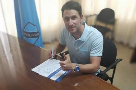 Beñat San José firma contrato con Bolívar hasta 2018