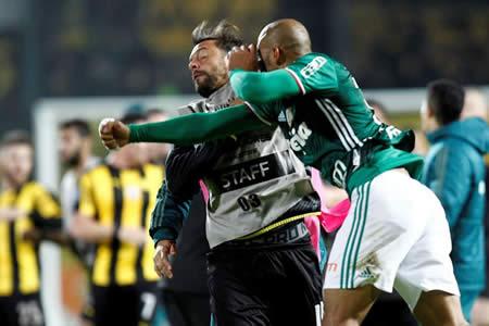 20 guardaespaldas salvaron al Palmeiras de una tragedia