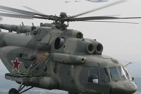 Firma rusa negocia con Bolivia suministro de helicópteros