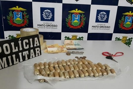 Boliviano es detenido en Brasil con 45 cápsulas de droga