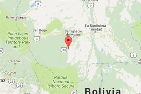 Una avioneta se accidenta en San Lorenzo de Moxos
