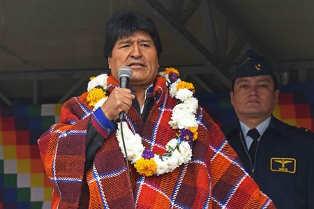 Morales pide a Almagro respeto al principio de no intervención de la carta constitutiva de la OEA