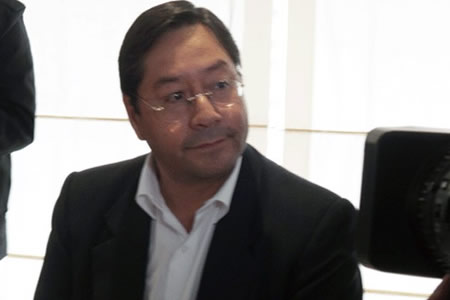 Arce pone en duda alza salarial en Huanuni y Ecobol