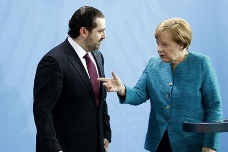 Merkel agradece al Líbano acogida de refugiados y garantiza apoyo económico