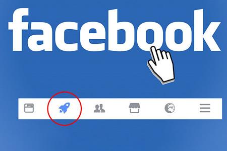 ¿Qué significa el misterioso botón con un cohete de Facebook?