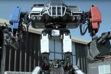 El temible robot de combate de 12 toneladas de EE.UU., listo para su primera pelea robótica