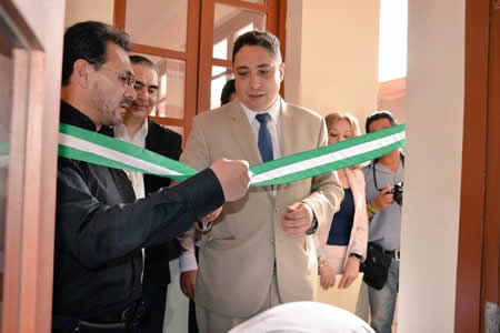 Ministro de Justicia inaugura centro integral en Santa Cruz