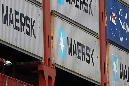Naviera danesa Mærsk calcula hasta 255 millones en pérdidas por ciberataque