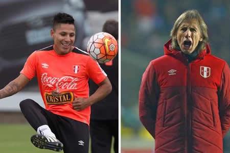 Perú se debate entre Ruidíaz o Farfán para no perder el tren al Mundial