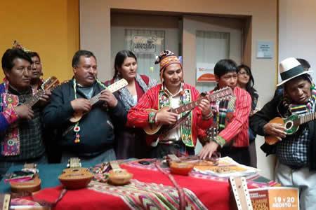 Cumbre del Charango se iniciará con una marcha de 16 comunidades de Potosí