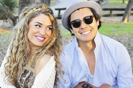 El dúo peruano-argentino Periko y Jessi hacen música literalmente del corazón