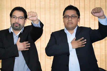 En Hidrocarburos posesionan a dos nuevos viceministros