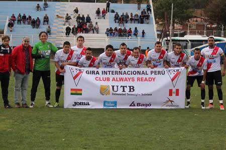 Always Ready cerró su gira por Perú con empate frente al Cienciano