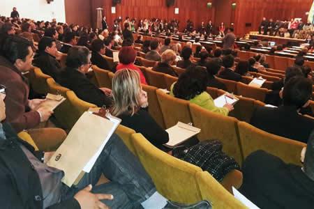 Postulantes a tribunales de Justicia y Constitucional inician examen