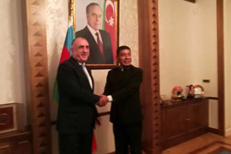 Bolivia y Azerbaiyán destacan importancia de fortalecer lazos de amistad y cooperación bilateral