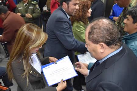 Romero clausura curso sobre prevención de lavado de activos del narcotráfico dictado por españoles