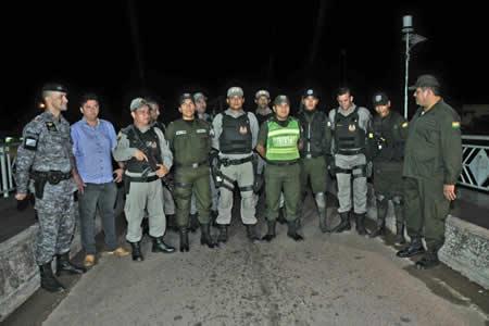 Cierran frontera con Brasil para frenar delincuencia