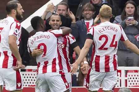 Jesé da la victoria al Stoke ante el Arsenal en su debut en la Premier