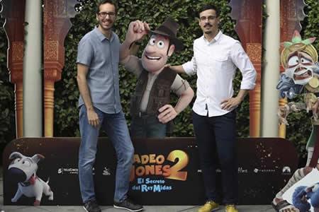 """Tadeo Jones vuelve a los cines más """"crecido"""" en """"El secreto del rey Midas"""""""