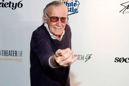 La leyenda del cómic Stan Lee recibe un homenaje a su carrera en Los Ángeles