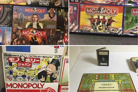 La mayor colección de Monopoly del mundo llega a Bélgica