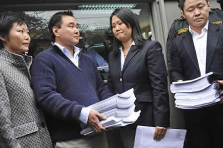 Abren investigación contra hermanos de Keiko Fujimori por lavado de activos