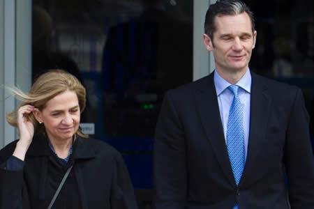 Urdangarin, primer familiar de un rey español condenado a cárcel en democracia