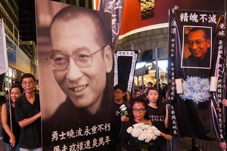 El régimen chino controla hasta el último adiós a Liu Xiaobo