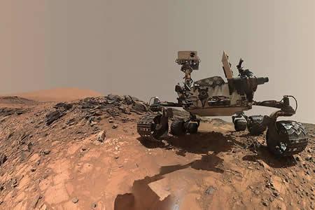 La NASA revela una imagen de la 'cara' de Marte