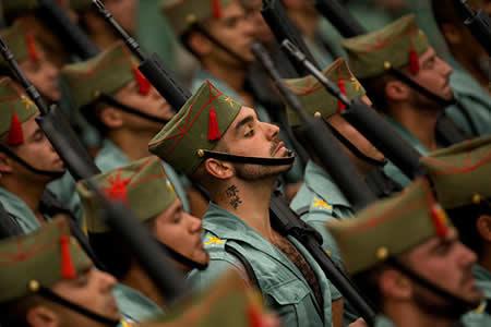 El Ejército más sexi del mundo: los soldados de la Legión Española encienden la Red