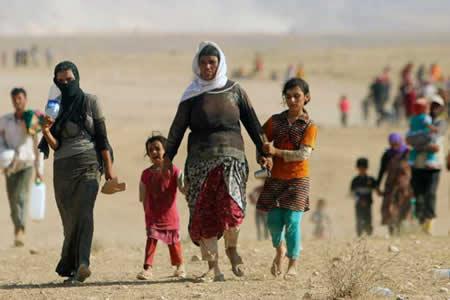 Unos 300 refugiados sirios en el Líbano regresan a su país