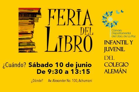 Anuncian que feria boliviana del libro destacará literatura latinoamericana