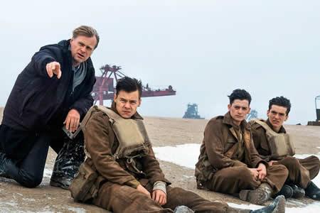 """Christopher Nolan: """"Dunkerque"""" es """"envolvente y está cargada de suspense"""""""
