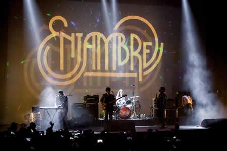 """Banda de rock Enjambre busca cautivar a público EEUU con """"Imperfecto extraño"""""""