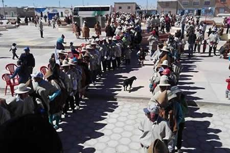 Nación Uru Chipaya eligió a su autoridad ejecutiva