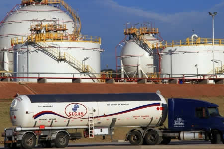Bolivia exportará 4.000 toneladas de GLP a Paraguay