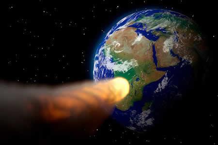 Revelan cómo quedaría la Tierra tras la caída de un asteroide