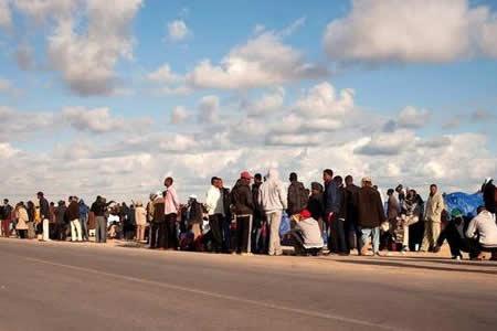 El número de desplazados forzosos alcanza la cifra récord de 65,6 millones