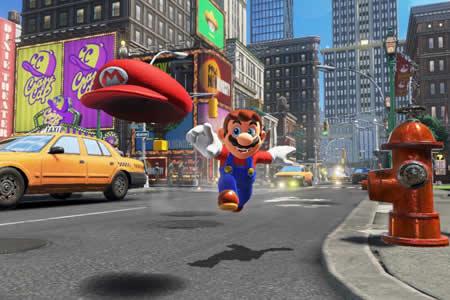 """""""Super Mario Odyssey"""", una nueva tentación para Nintendo Switch"""