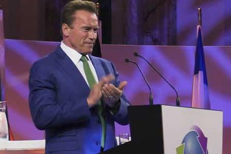 Schwarzenegger dice que Trump no detendrá la lucha contra el cambio climático
