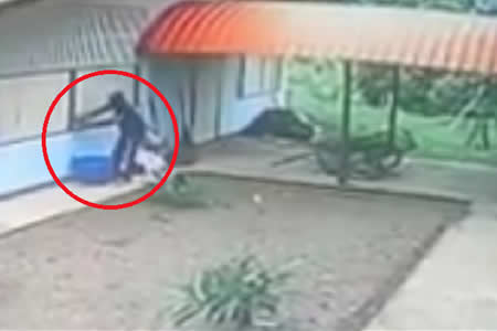 La inesperada e inolvidable sorpresa que encontró este ladrón al entrar a una casa