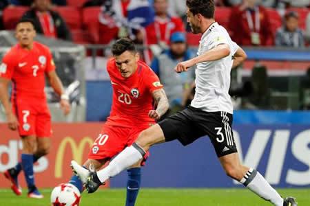 Alemania frena a una desatada Chile