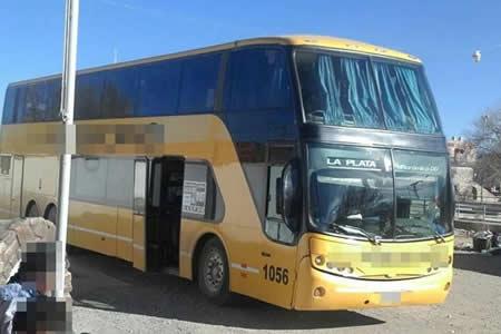 """Caen 10 """"tragones"""" bolivianos en un ómnibus en Argentina"""