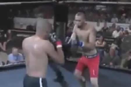 Combate exprés: deja KO a su adversario en menos de cinco segundos
