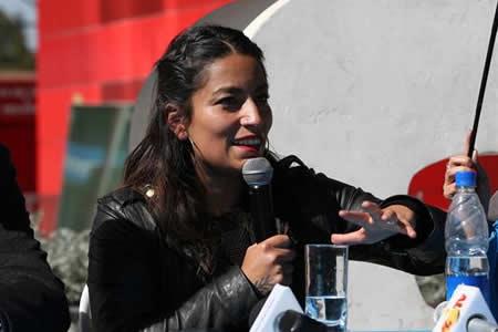 """Ana Tijoux: """"No es que el rap sea machista, es que el mundo es machista"""""""
