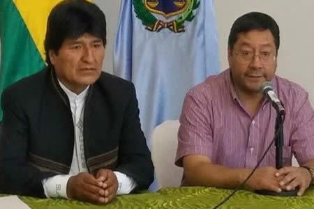 Ministro Arce se aleja del cargo por razones de salud, debe viajar a Brasil