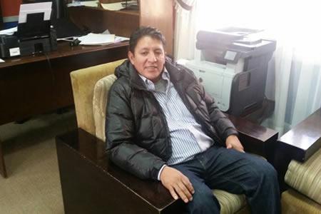 Alcalde de Quillacollo anuncia ingresar en huelga de hambre